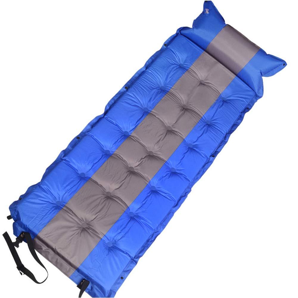 TZTED Selbstaufblasbare Matratzen Tragbare Ultraleichte Aufblasbare Isomatte mit Kopfkissen Sleeping Pad Für Camping Reise Outdoor