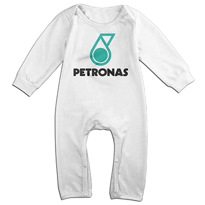 Baby Boys Girls Mercedes Amg F1 Petronas Long Sleeve One Piece Baby