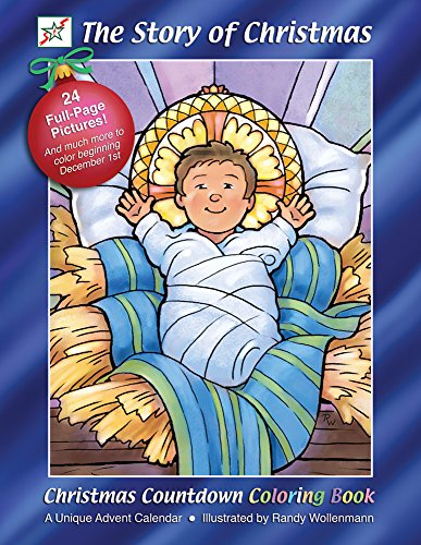 The Story of Christmas Coloring Book & Advent Calendar