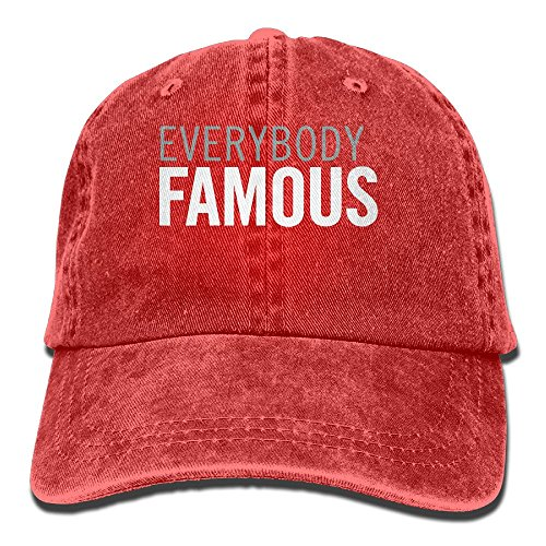 EVERYBODY FAMOUS Snapback Casual Baseball Hat Jeans Cap For Men And Women Ajustable