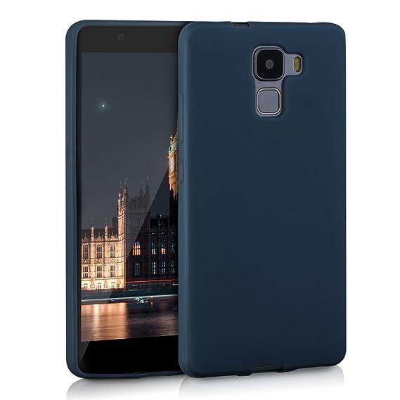 kwmobile Huawei Honor 7 / Honor 7 Premium Hülle - Handyhülle für Huawei Honor 7 / Honor 7 Premium - Handy Case in Dunkelblau