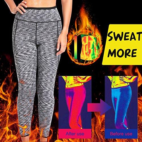 SEXYWG Slimming Pants Hot Sweat Shapers Neoprene Ankle Long High-Waist Leggings