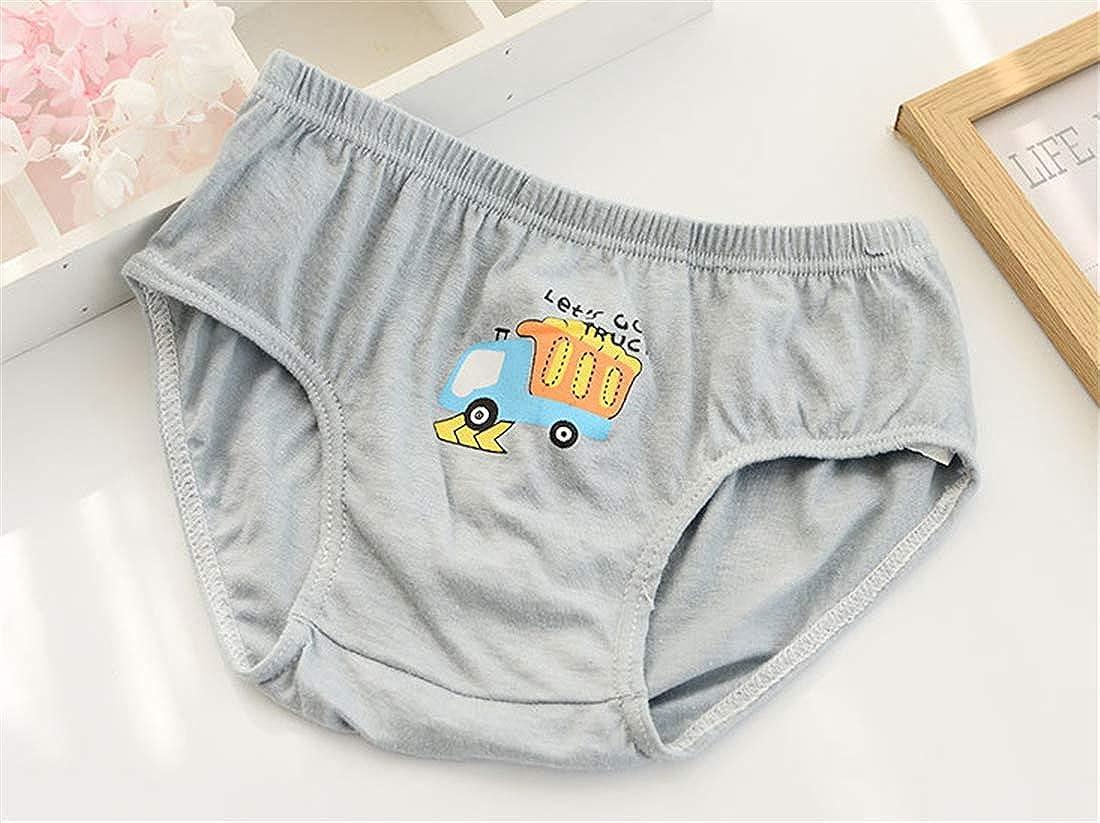 Cartoon Animal Toddler Underwear Kids Briefs Cotton Panties for Children Boys 5 Pack 1-13 Year Little Boys Briefs