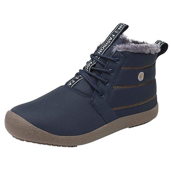 Hombre Para Calientes Zarlle Zapatos Hombres Invierno De Botas 8fw7BBqFp