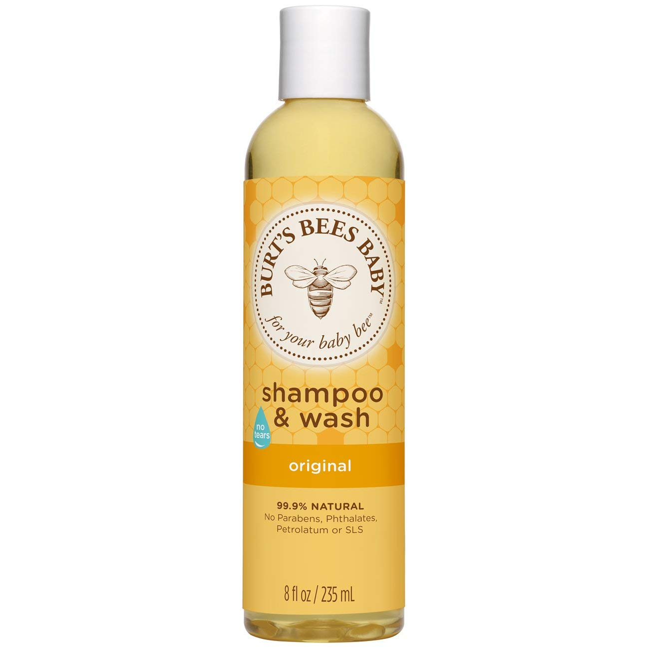 Burt's Bees Baby Calming Shampoo and Wash, 235ml Burts Bees