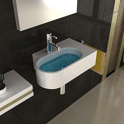 bad1a Cerámica Mano Lavabo/Cuarto de baño/Diseño tocadores/Invitados ...