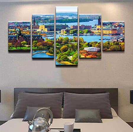 Decoración para el hogar HD Cartel Impreso Lienzo Moderno ...