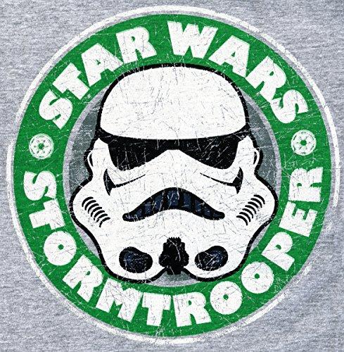 Star Wars T-Shirt mit Stormtrooper in grau