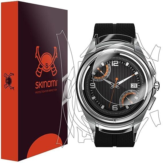 LG Watch Urbane 2nd Edition LTE Screen Protector + Full Body, Skinomi TechSkin Front & Back Skin + Screen Protector for LG Watch Urbane 2nd Edition ...