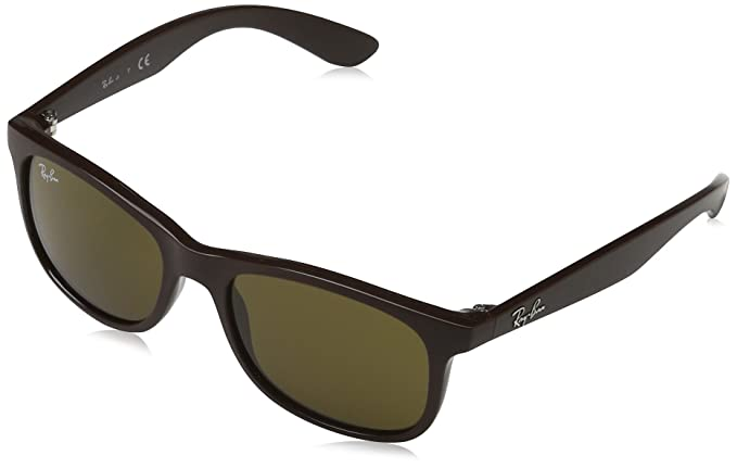 Ray-Ban Gafas de sol RJ9062S Matte Brown, 48: Amazon.es ...