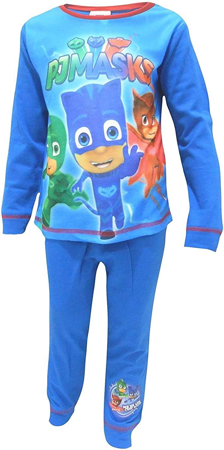 Boys PJ Masks Were On Our Way Snuggle Fit Pyjamas 4-5 Years ...