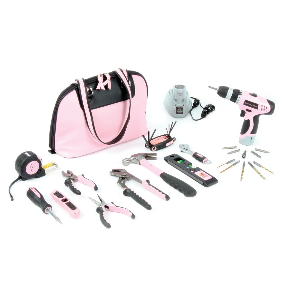 Little Pink Tool Kit and Drill Combo by Little Pink