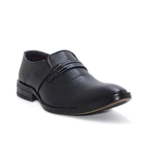 a9959ba8c53 D zigners Boys Black Formal and Casual Shoes (2UK)  Amazon.in  Shoes ...