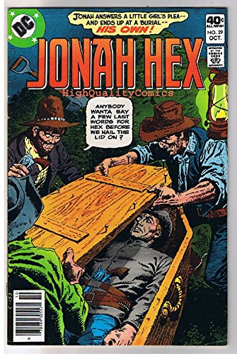 JONAH HEX #29, FN/VF, Innocent, Coffin, Scar, 1977, more JH in store ()