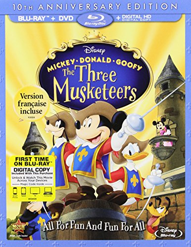 Blu-ray : The Three Musketeers (10th Anniversary) (Anniversary Edition, AC-3, Dolby, Digital Theater System, 2 Pack)