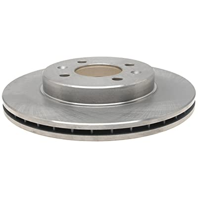 ACDelco 18A367A Advantage Non-Coated Front Disc Brake Rotor: Automotive