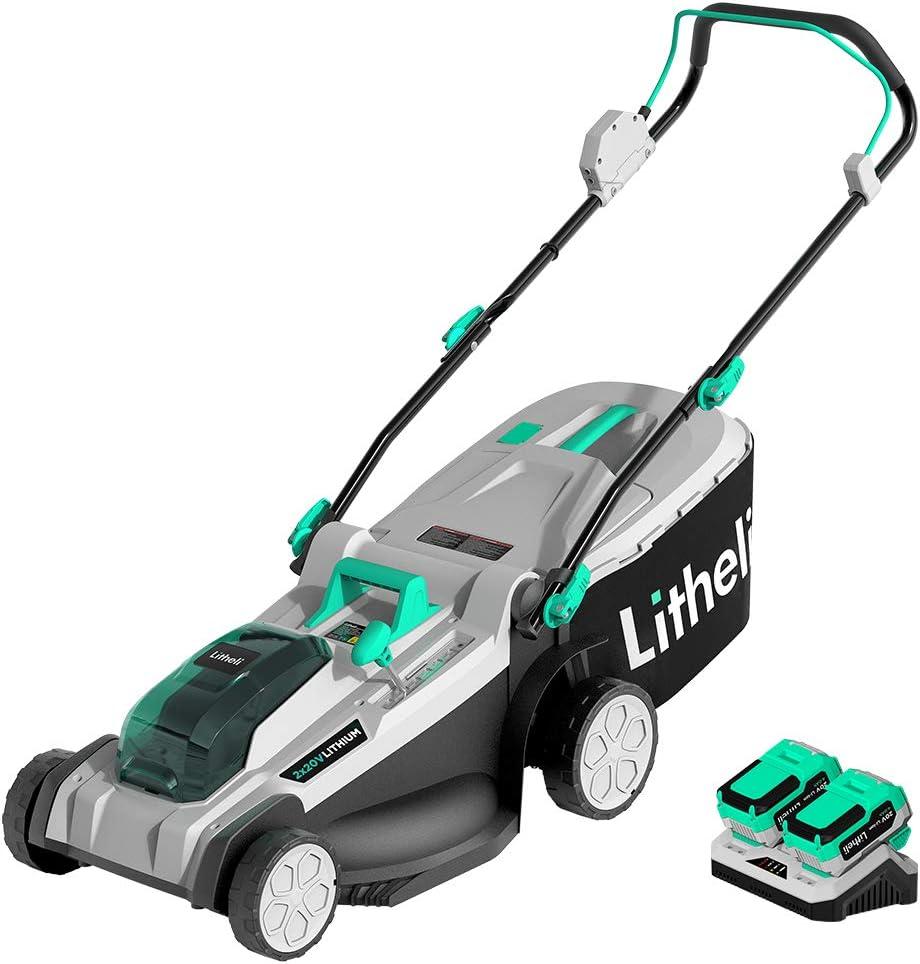 Litheli Cordless Lawn Mower - 40V