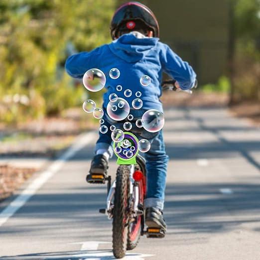 Bike Bubble Machine Durable Ultimate Fun para Bicicleta de Color ...