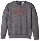 adidas NCAA Arizona State Sun Devils Men's Sideline Chiseled Team Issue Fleece Crew Sweat Shirt, XX-Large, Dark Gray