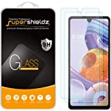 (2 Pack) Supershieldz Designed for LG Stylo 6 Tempered Glass Screen Protector, Anti Scratch, Bubble Free