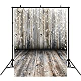 5x7ft Grey Wood Floor Photography Backdrops Children Vinyl Light Spot Photo Background Studio Props