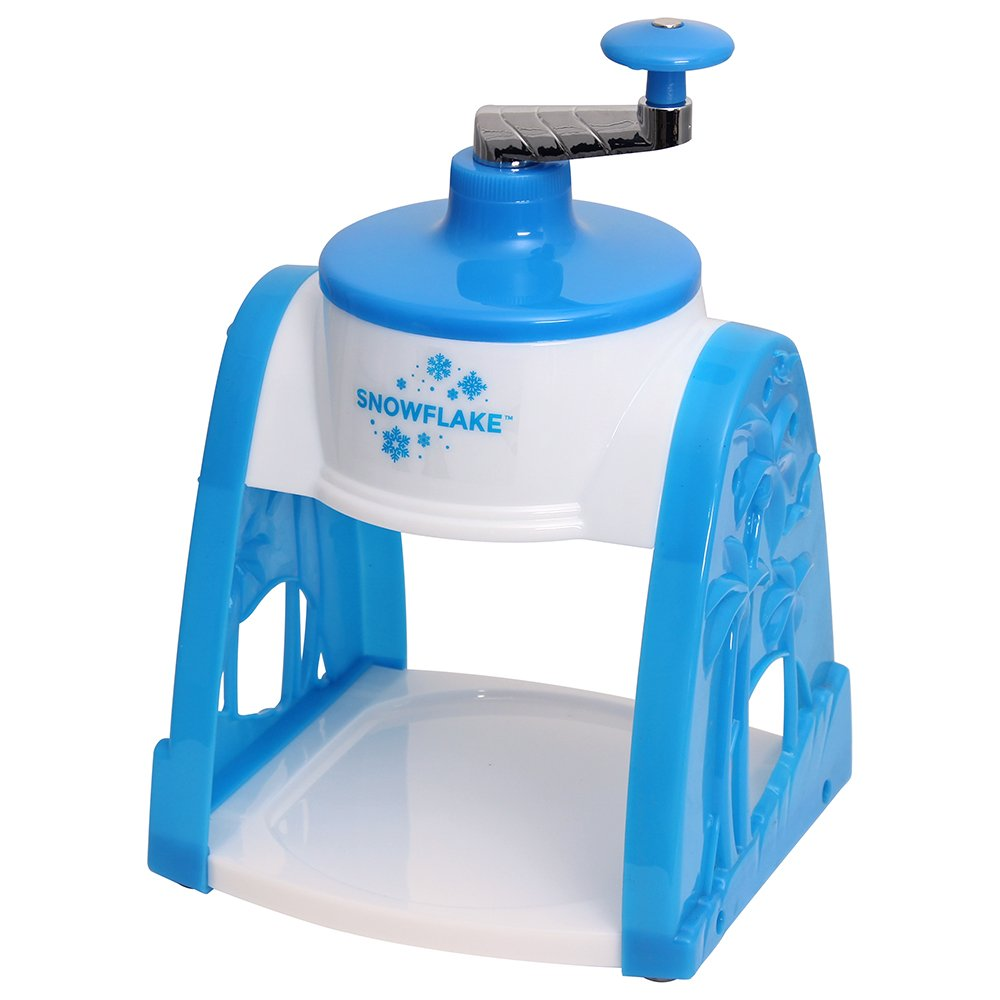 Time for Treats SnowFlake Hand Crank Manual Snow Cone Maker Ice Shaver VKP1101 by Time for Treats