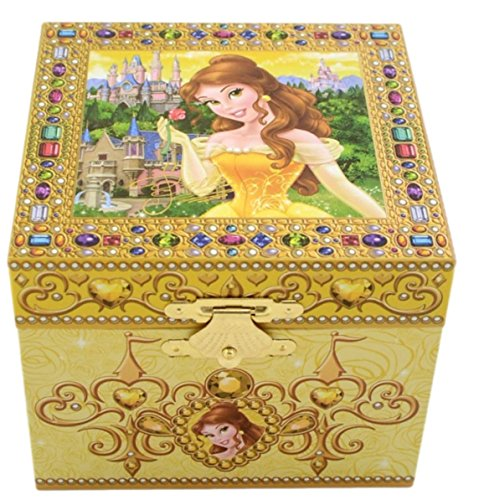Disney Parks Exclusive Belle Beauty & the Beast Musical Jewelry Box (Belle Musical Jewelry Box)
