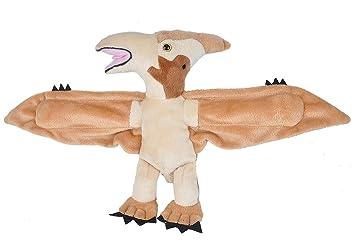 Wild Republic Huggers Pteranodon Plush Toy, Slap Bracelet, Stuffed Animal, Kids Toys,