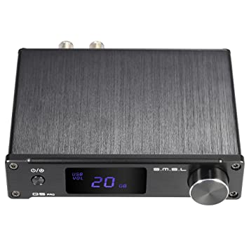 ammoon S.M.S.L Pro Q5 Mini Portátil HiFi Digital 3.5mm AUX Analógico / USB / Coaxial / Óptica Audio Estéreo Amplificador de Potencia con Mando a Distancia: ...