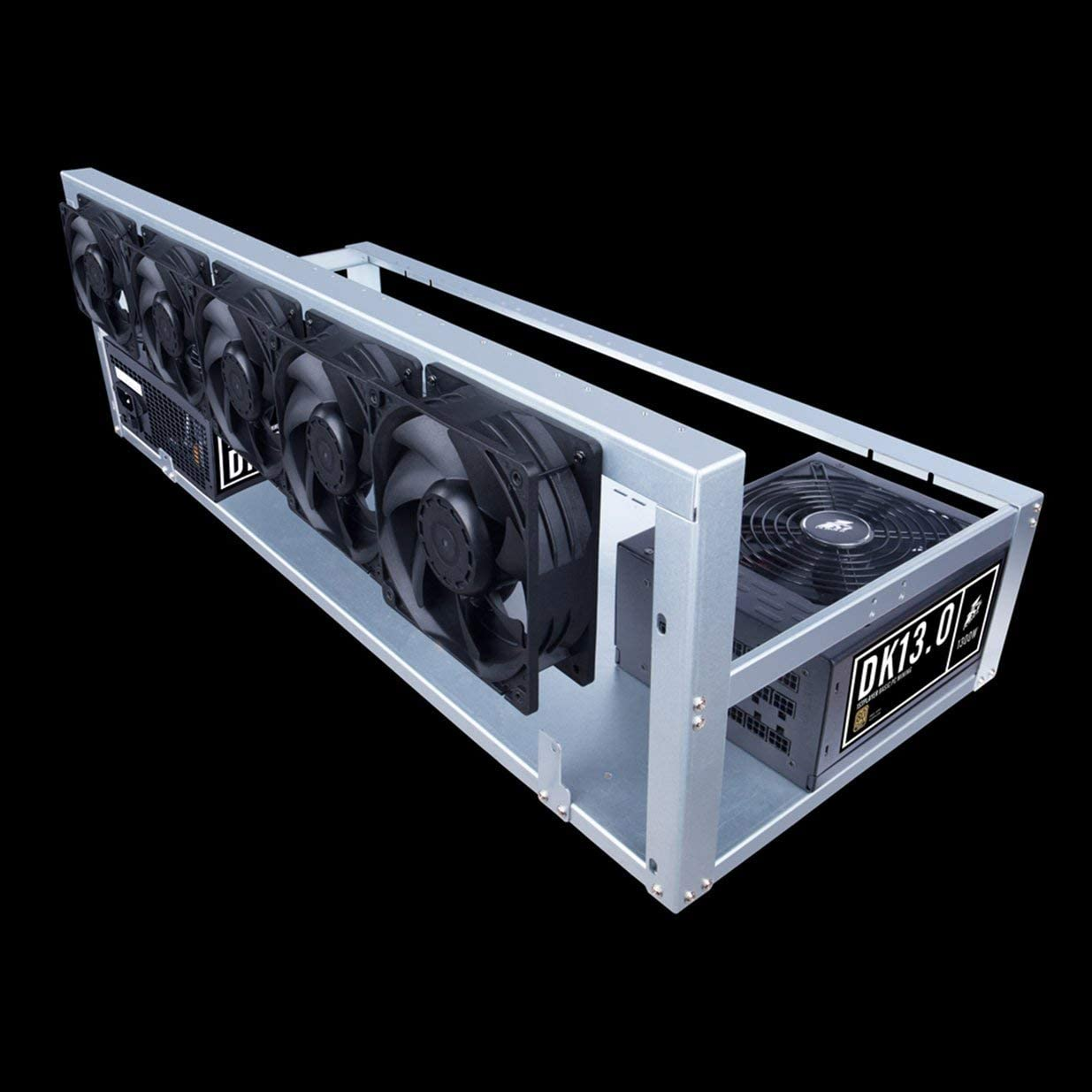 Banbie8409 12V 4000RPM 7-Blatt-Bergbaumaschine-K/ühlerl/üfter 120MM tragbarer Ventilator