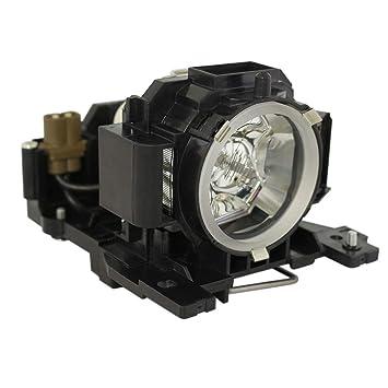 Supermait DT00891 Lámpara de Repuesto para proyector con Carcasa para HITACHI CP-A100 / ED-A100 / CP-A110 / HCP-A8 / CP-A100J / ED-A100J / ED-A110 / ...