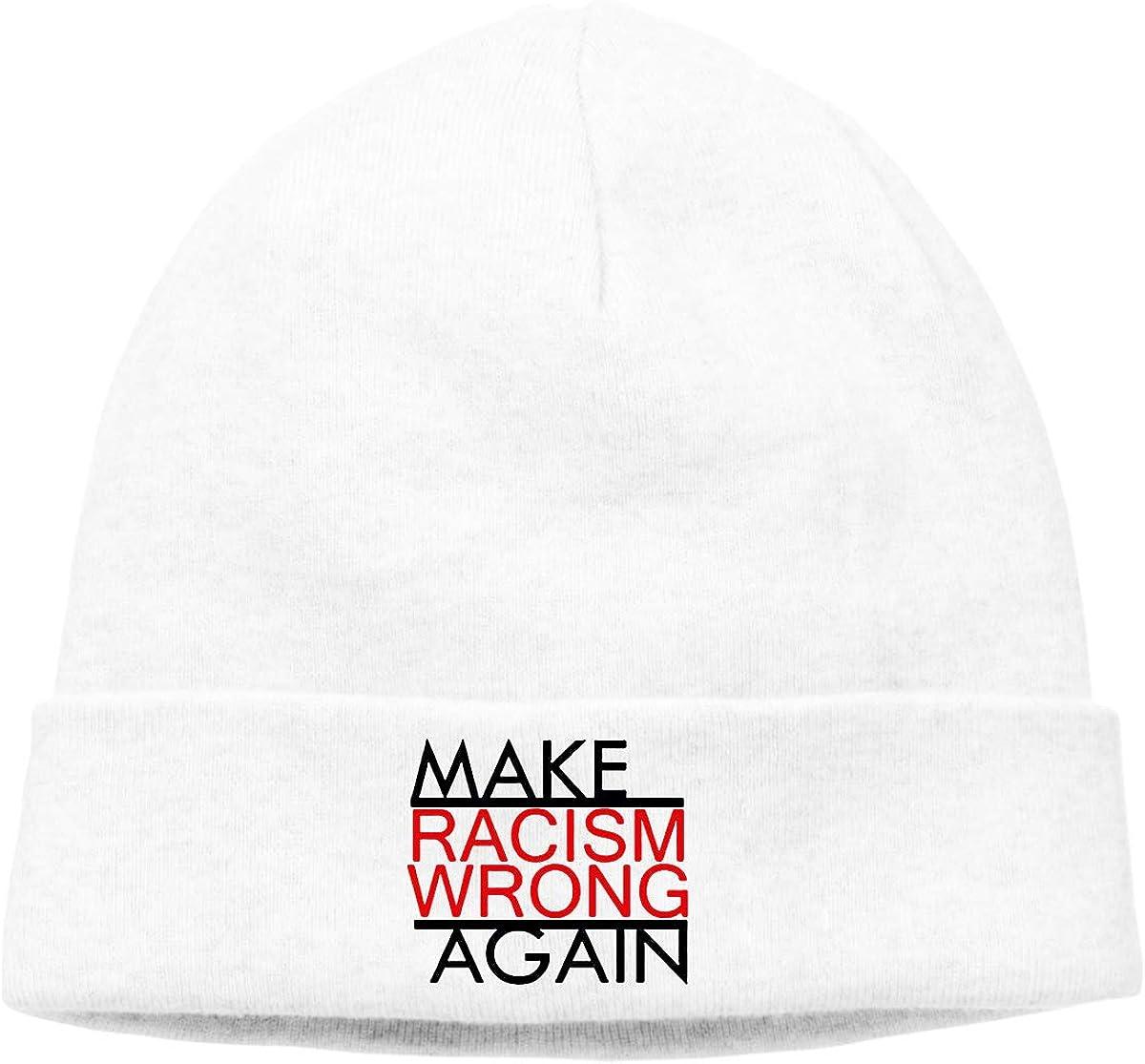 Nskngr Make Racism Wrong Again Men Winter Summer Oversized Baggy Winter Beanie