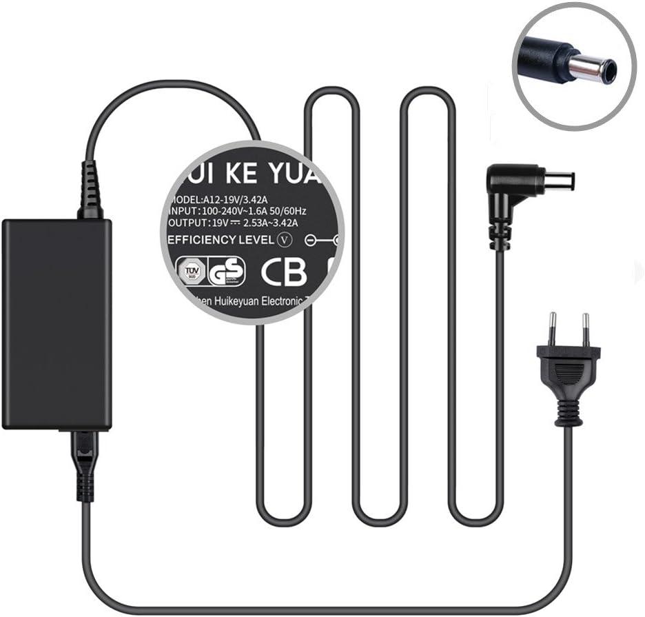 TUV GS Listed] huikeyuan Monitores Fuente de alimentación Cargador Cable de carga para 19 V Samsung TV a4819 de fdy BN44 – 00838 A un32j4000 un32j5003 un32j5205 un32j4000af un32j4500af un32j5003af un32j4000 afxza