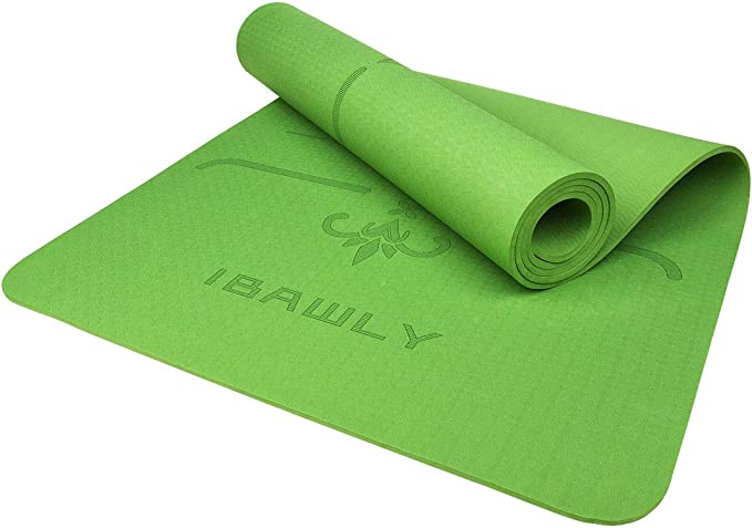Amazon.com: IBAWLY - Alfombrilla antideslizante para yoga ...