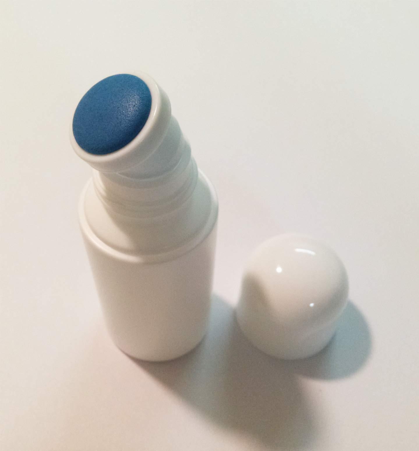 Plastic Bottle Empty Liquid Bottles Sponge Head Applicator Skin Care Scalp Hair Care Medicine Cosmetic Travel Use 50ml