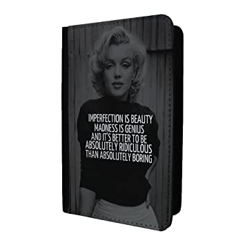 Marilyn Monroe Passport Holder Case Cover - st-t1405: Amazon.es: Electrónica