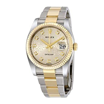 6ffcf816fe9c Image Unavailable. Image not available for. Color  Rolex Oyster Perpetual  Datejust ...