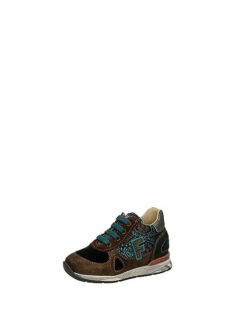 Naturino Falcotto Scott Zapatillas Chica, Piel, High, Color Marrón, Talla 19: Amazon.es: Zapatos y complementos