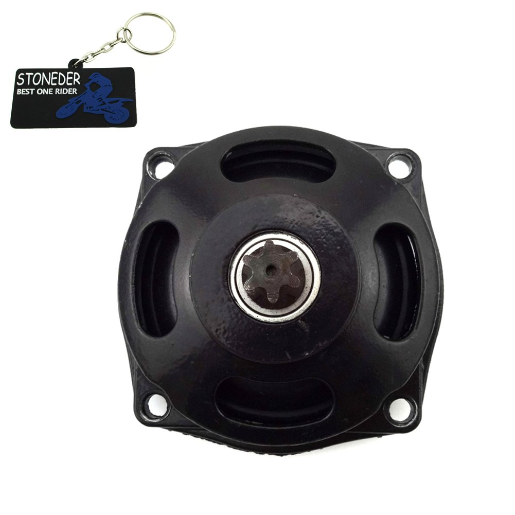 stoneder 25H 6/dientes Embrague Gear Caja de tambor para motor de 2/tiempos 47/cc 49/cc Minimoto Pocket Bike Mini Quad ni/ños ATV Buggy Go Kart