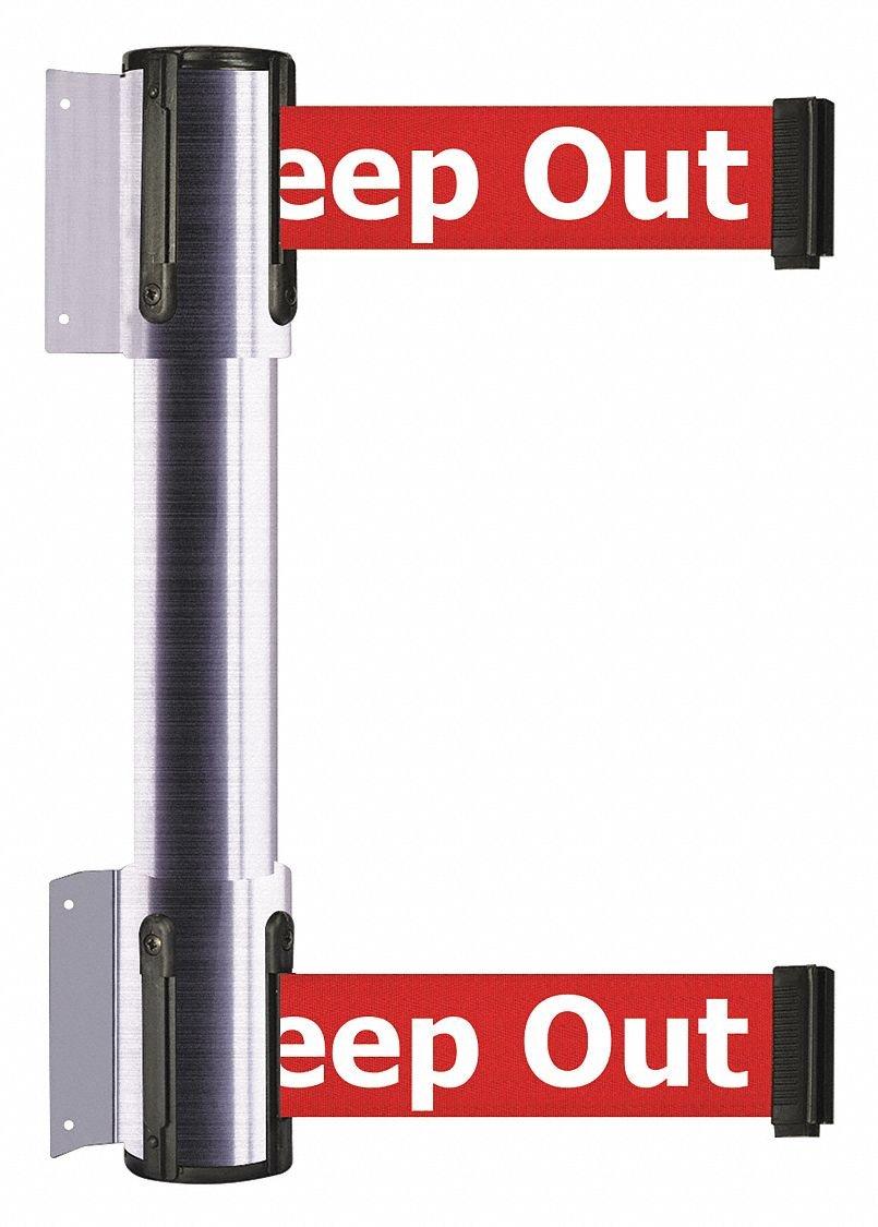 Belt Barrier,Danger - Keep Out,2 Belts by TENSATOR
