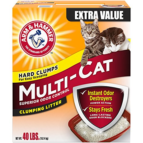 Arm Hammer Multi Cat Litter Packaging
