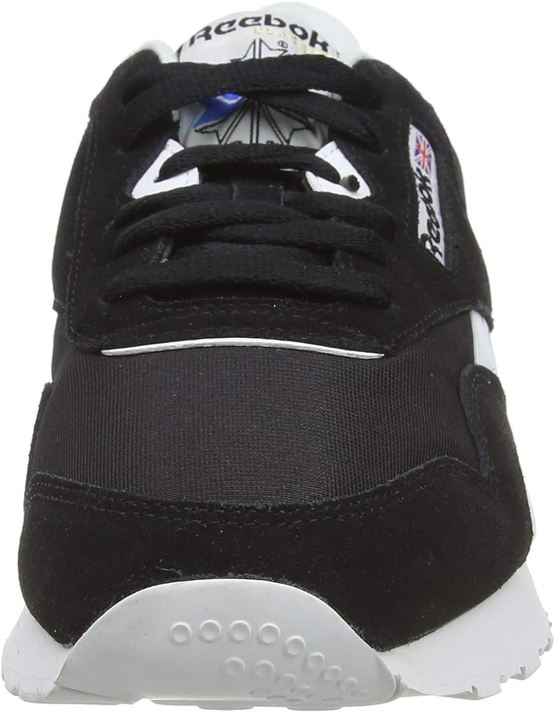 Reebok Damen Cl Nylon Sneakers Schwarz Black White Tb6G6