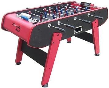 Sweety Toys 6700 mesa futbolín Kicker rojo-negro: Amazon.es: Juguetes y juegos