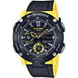 Casio G-Shock Men's Analog-Digital GA2000-1A9 Watch Black Yellow