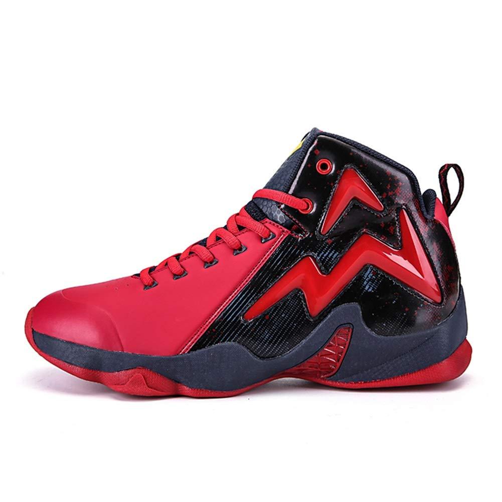 FEI Chaussures pour Hommes, Chaussures de Basket-Ball Haut de Gamme, Baskets en polyuréthane Artificiel pour l'automne, Chaussures de Course à l'épreuve du Glissement pour Le Confort