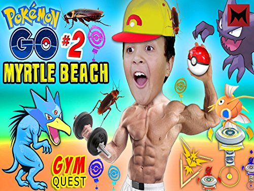 Pokemon Go to Myrtle Beach - Broadway Myrtle