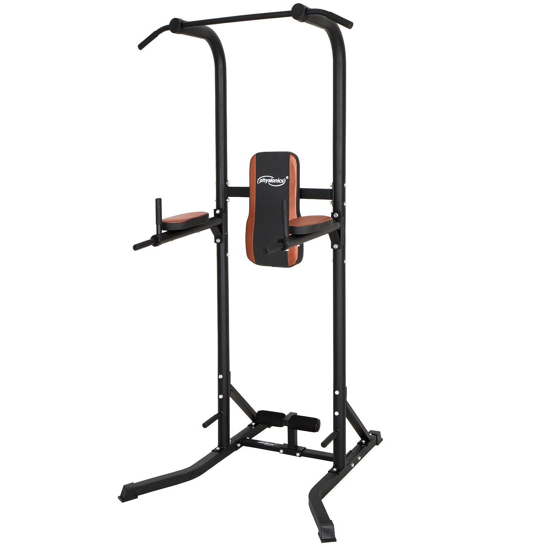 maquina de musculaci/ón multifuncional 118//104//220 cm - aprox Physionics Aparato para abdominales y fondos de dominadas