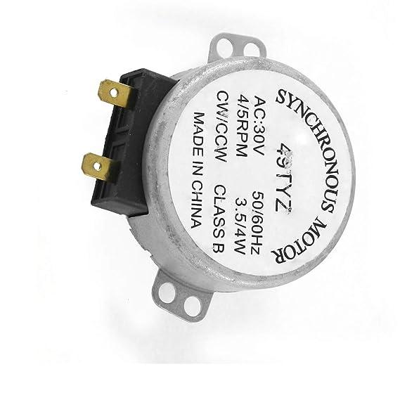 Aexit AC 30V 3.5 / 4W 4 / 5RPM 49TYZ síncrono para (model: W8385IV ...