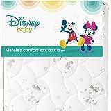 DISNEY PAR BABYCALIN - Matelas bébé confort Mickey et Minnie -  pour lit 60 x 120