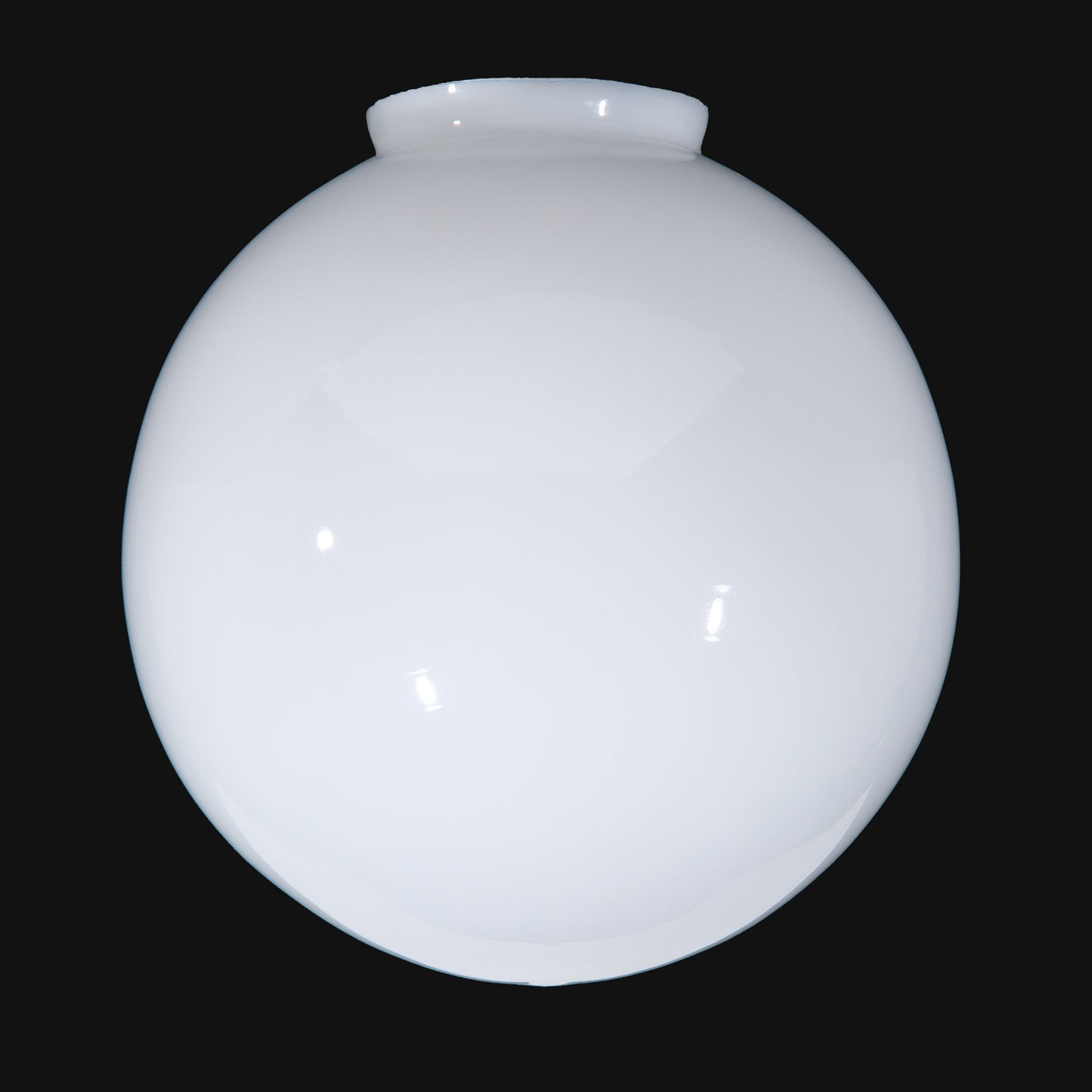 B&P Lamp 12'' Opal Glass Ball Lampshade by B&P Lamp